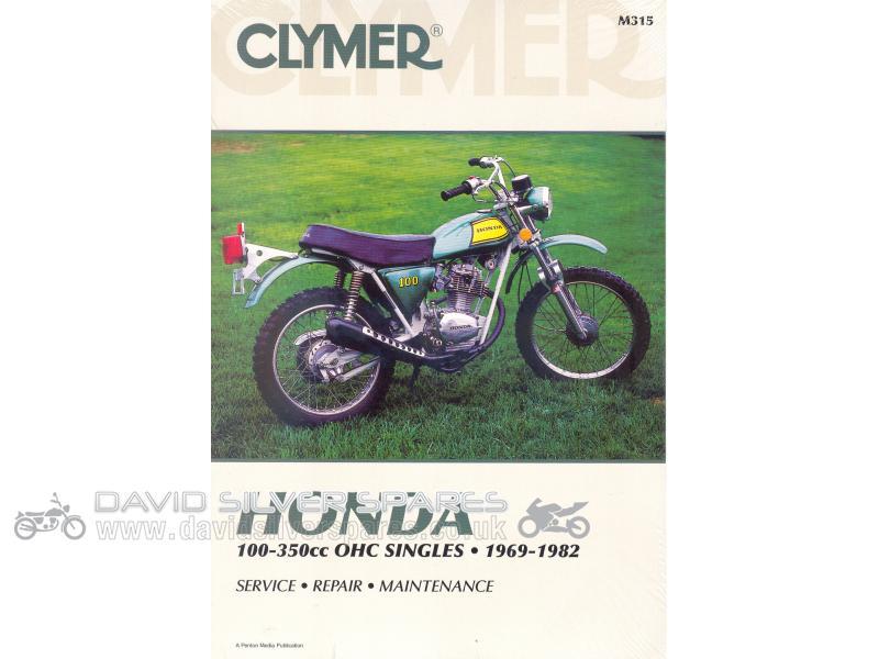 david silver spares usa honda xl175 1976 usa workshop manual by clymer rh davidsilverspares com honda xl175 manual pdf Honda XL200